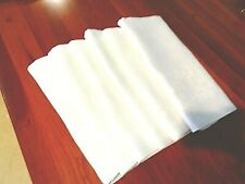 """Collection of 6 Antique mismatched 100% Irish linen napkins all same size 22"""""""
