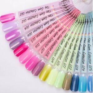 Komilfo Multi-Color Gel Polish Gem Collection Nail Art