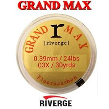 GRAND MAX Riverge Fluorocarbon 30yrds 24lbs SEAGUAR Fly Fishing LEADER Tippet