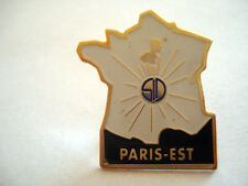 PINS RARE CARTE DE FRANCE SD S.D ENERGIE SOLAIRE PARIS EST EDF