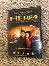 Hero (Dvd, 2004, Widescreen) Jet Li Tony Leung Ka Fai
