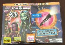 Monster High: Freaky Fusion (DVD, 2014) Special Features Gift Set Flashlight Pen