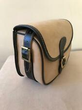 New Leather Cartridge Bag With Beautiful Design Attached Brass Buckles code(45)