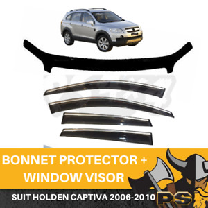 Bonnet Protector & Window Visors for Holden Captiva CG 2006-2010