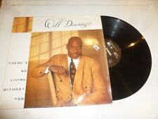"""WILL DOWNING - There's No Living Without You - 1993 UK 4-track 12"""" Vinyl Single"""