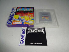 Solar Striker Game Boy Spiel komplett mit OVP und Anleitung