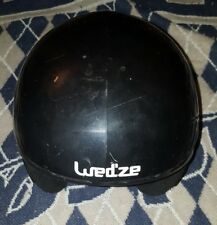 WED'ZE MRZ 400 Childrens Ski Helmet 56-58cm BLACK Large