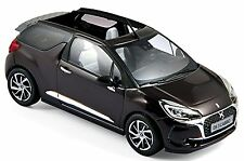 Citroen DS3 Cabrio 2016 whisper púrpura & marrón lila & marrón 1:43 Norev