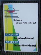 Original Plakat Entwurf von Fehling Klepper , Mäntel, Boot, Zelt         ( 7 )