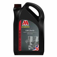 Millers Oils COR 20W50 Competition Nanodrive Synthetic Engine Oil 5 Litres