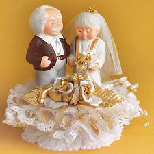 Tortendeko,  Hochzeit / Brautpaar zur goldenen Hochzeit, Oma, Opa
