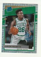 2020-21 Panini Donruss Rated Rookie RC Choice Silver Mojo Aaron Nesmith SP