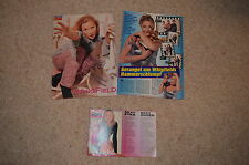 3x WHIGFIELD signed Original Autogramm In Person SATURDAY NIGHT A4