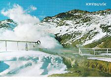 Iceland Krysuvik Postcard Unused VGC