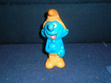 Vintage Strumf Ex-Yugoslavia Rubber Toy - Peyo - Biserka Zagreb (K-6)