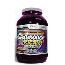 COLOSSUS GIGANT CHOCOLATE 3K PROTEINAS CARBOHIDRATOS CREATINA GLUTAMINA BCA EN 1
