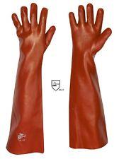 PVC-Sandstrahlhandschuhe Teichpflegehandschuhe 60 cm Xl