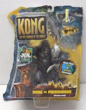King Kong 2005 Movie Kong Vs Juvenile V-Rex Action Figure Playmates T-Rex NIP
