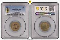 2013 Two Dollar Coronation Australian $2 PCGS Graded MS64