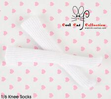 ☆╮Cool Cat╭☆【KS-116】Blythe/Pullip(1/6)Knee Socks # White