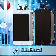 Ecran complet pour iPhone 6S noir/blanc vitre tactile + ecran LCD sur chassis