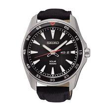 Relojes de pulsera Seiko de piel acero inoxidable