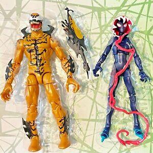 Marvel Legends Spider-man Phage & Gwenom Gwen Stacy no Venompool BAF -SHIPS FAST