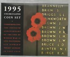 1995 MINT SET - UNCIRCULATED MINT COIN SET -*ROYAL AUSTRALIA MINT*