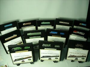 Your Choice of Atlas Editions MINITRAINS Z Gauge Die Cast Metal Miniature Train
