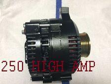 BLACK FORD MUSTANG THUNDERBIRD COUGAR 3.8 5.0L V6 V8 250 HIGH AMP HD ALTERNATOR