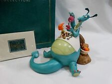 """Disney WDCC Reluctant Dragon """"The More The Merrier"""" Limited Edition Figurine"""