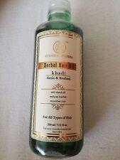 Khadi Natural Amla & Brahmi Hair Oil Healthy Hairs Soft And Smooth Hair 210ml