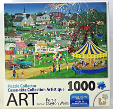 jigsaw puzzle collector 1000 pc County Fair Persis Clayton Weirs LPF
