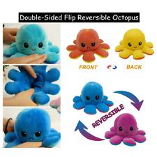 Flip-Plüschtier Octopus Toy Doppelseitiges Wendepuppe Stofftierpuppe für Kinder