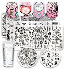 Born Pretty 6Pcs Nail Art Stamping Plates Set Valentine's Day Dream Datcher 1Pc