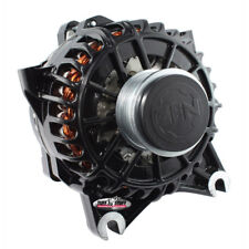 Tuff Stuff Alternator 8438B; 6G 136 Amp Black Powdercoat for Ford Mustang 4.6L