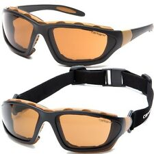 Carhartt Safety Glasses Carthage Sandstone Anti-Fog Lens T22006