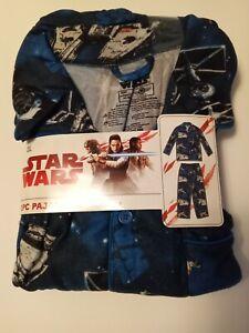 Star Wars Pajama Set Microfleece Longsleeve Size 2XL 2 Piece, NEW