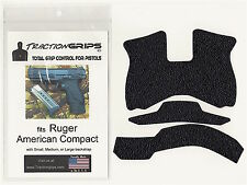 Tractiongrips rubber grip tape for Ruger American Compact / black Pistol Grips