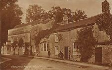 POSTCARD    OXFORDSHIRE   WOODSTOCK    Chaucer's  House  II