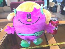 Little Miss Helpful Mr Men Pink Soft Toy Original Soft Toy Official 2009