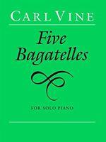 Five Bagatelles Piano Faber Edition