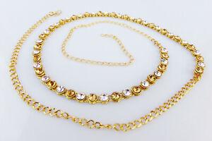 Stunning Fashion Jewelry Antic Hip Waist Belly Belt Chain Indian Saree KamrBandh