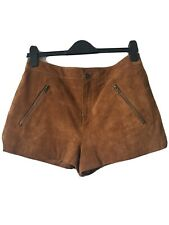 Forever 21 Leather Suede Shorts