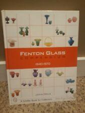 Fenton Glass Compendium, 1940-1970 and 1970 1985 collectors books by John walk