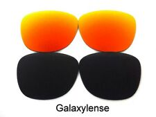 Replacement Lens For Ray Ban RB2140 Original Wayfarer Black/Red 54mm Sunglasses