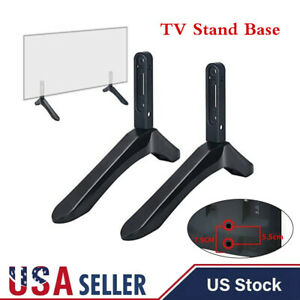 """Adjustable Universal TV Stand Base Mount For 32- 65"""" Samsung Vizio Sony LCD TV"""