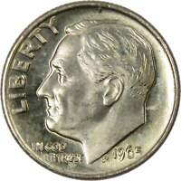 1965 Roosevelt Dime BU Uncirculated Mint State 10c US Coin Collectible