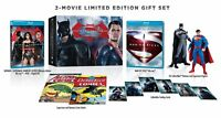 Batman v Superman + Man of Steel Limited Edition Box Set w/ Cards, 2 Figurines