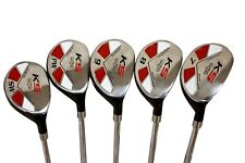 "Senior Ladies Majek Golf Hybrid Partial Set (7-SW) Lady ""L"" Flex Utility Clubs"
